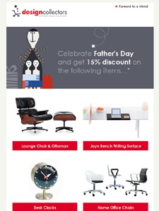 father's day email design