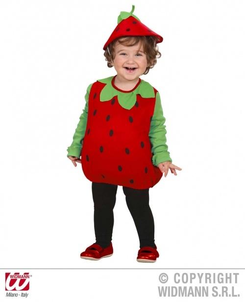 #Costume #Carnevale #bambina Fragolina www.allegribriganti.it/bambina/costume-carnevale-bambina-fragolina/