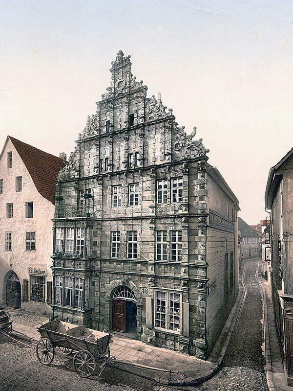 Das Rattenfangerhaus, Hameln, Hanover, Germany