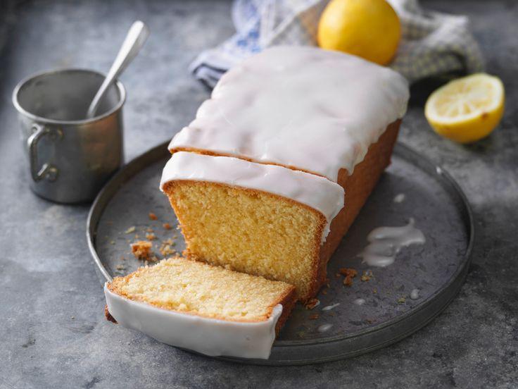 Rezept für saftigen Zitronenkuchen
