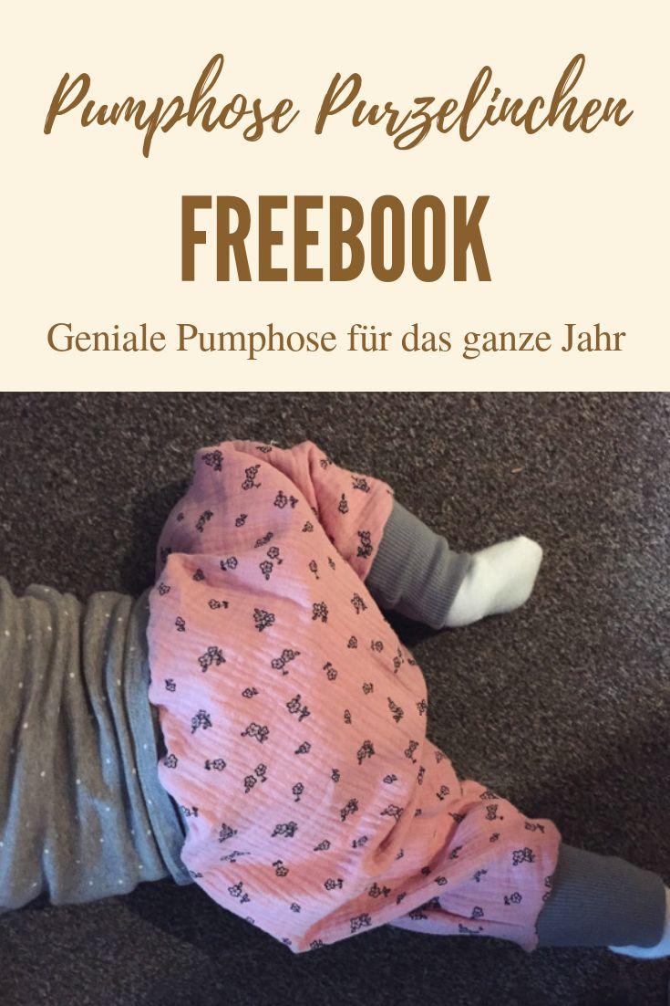Das Pumphose Purzelinchen – die einfachste Hose aller Zeiten in Version 2.0   – DIY Kinder-Kleidung nähen