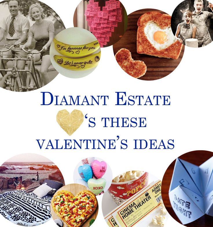 Happy Valentine's Day from Diamant Estate! #DiamantCelebrates  Here's a few fun things to do on #Valentines2015