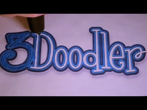 "3D Pen Lets You Doodle Right off the Page and Into the Air....The 3Doodler uses ABS or PLA plastic as its ""ink"" – just like any of the more expensive 3D printers on the market and makes your drawings come alive in a dimension you never thought was possible."