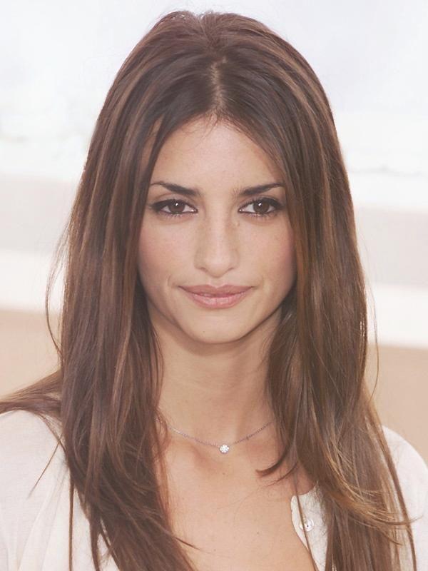 Penelope Lange Haare Durchgestuft Frisuren Frauen Pinterest Frauen Haare Penelope Pinterest