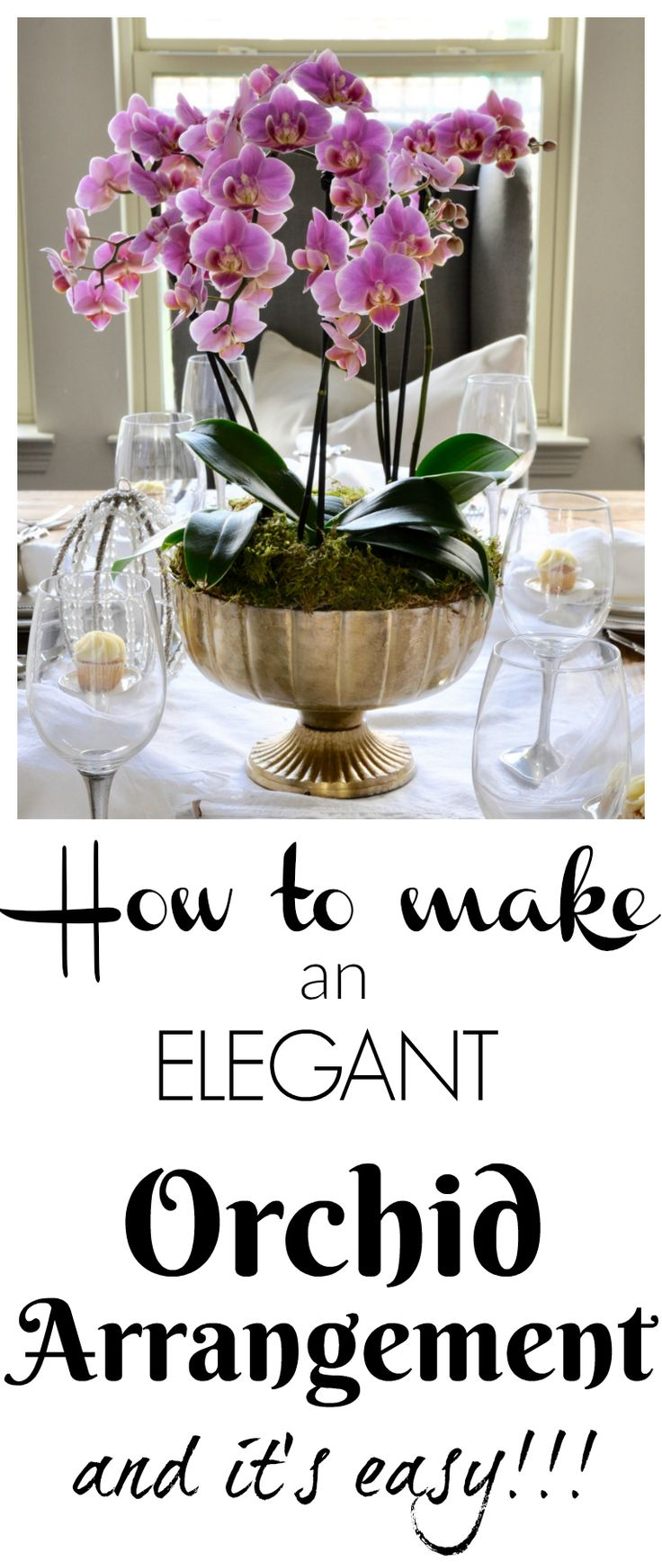 How to Make a Simple and Beautiful Orchid Arrangement