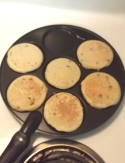 Perfect Pancakes with the Nordic Ware Silver Dollar Pancake Pan - Two Classy Chics