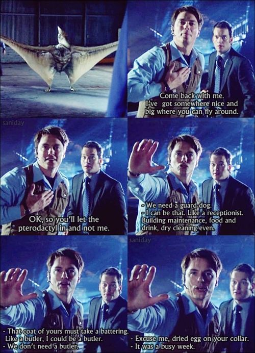 I loved this part! Ianto cracks me up!....The Twelfth Doctor requests that you view these fragments of time and space from my personal archives.