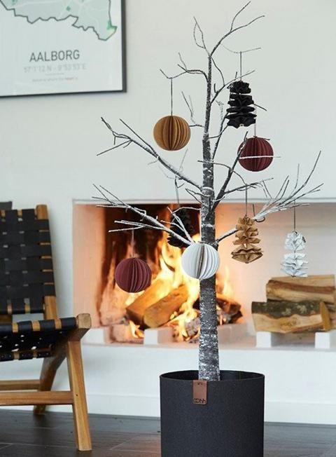 Weihnachtskugeln Im Trend Look Zu Hause Wohnen Hause Trend