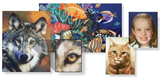Also from HobbyWare: Create beautiful mosaics from your photographs using the new PixelHobby craft.