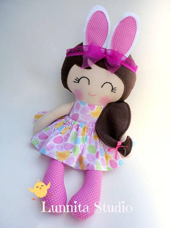 9 best handmade dolls fabric dolls rag dolls clothdoll baby doll maker creator of lunnita studio 100 handmade in usa negle Gallery