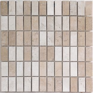 Istanbul mosaic wall tiles sand 330 x 330mm 4 pack from tiles pinterest Bathroom tiles ideas homebase