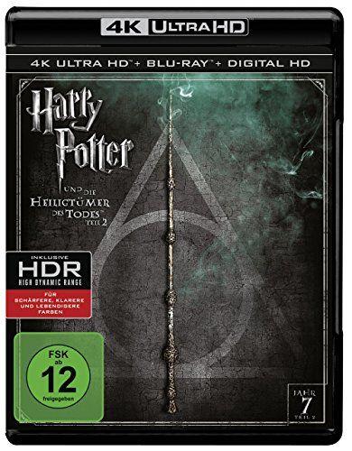Harry Potter und die Heiligtümer des Todes: Teil 2 - Ultra HD Blu-ray [4k + Blu-ray Disc]