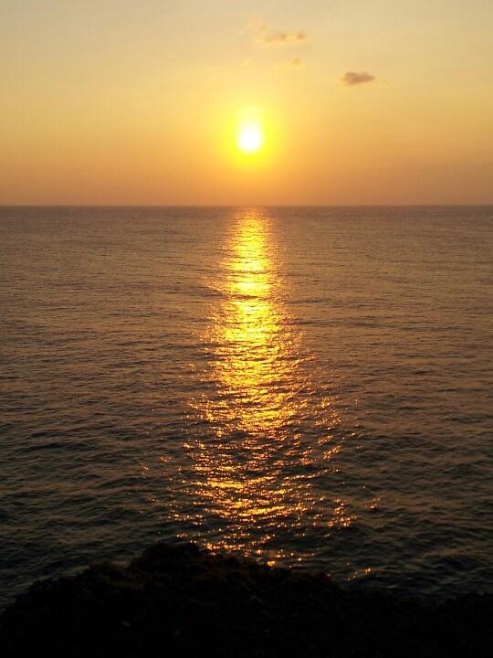 Sunset yoron