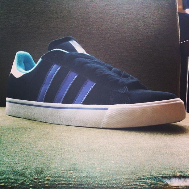 New Adidas Campus Vulc's in stock now! #boardparadise #adidas #campusvulc #purple #teal #footwear #sneakers #skateshoes #3stripelove #streetwear #skate #durham #greensboro #nc - @boardparadise- #webstagram