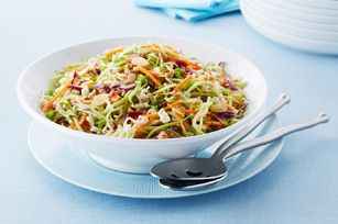 Crunchy Asian Broccoli Coleslaw recipe -- not sure if it in the magazine, but looked so good!