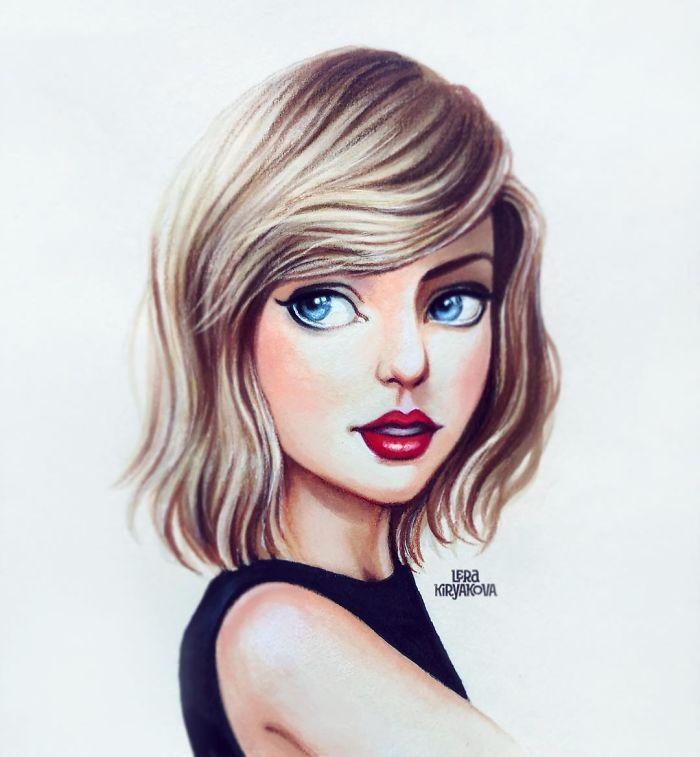 Artista Cria Desenhos Incriveis De Personalidades E Personagens