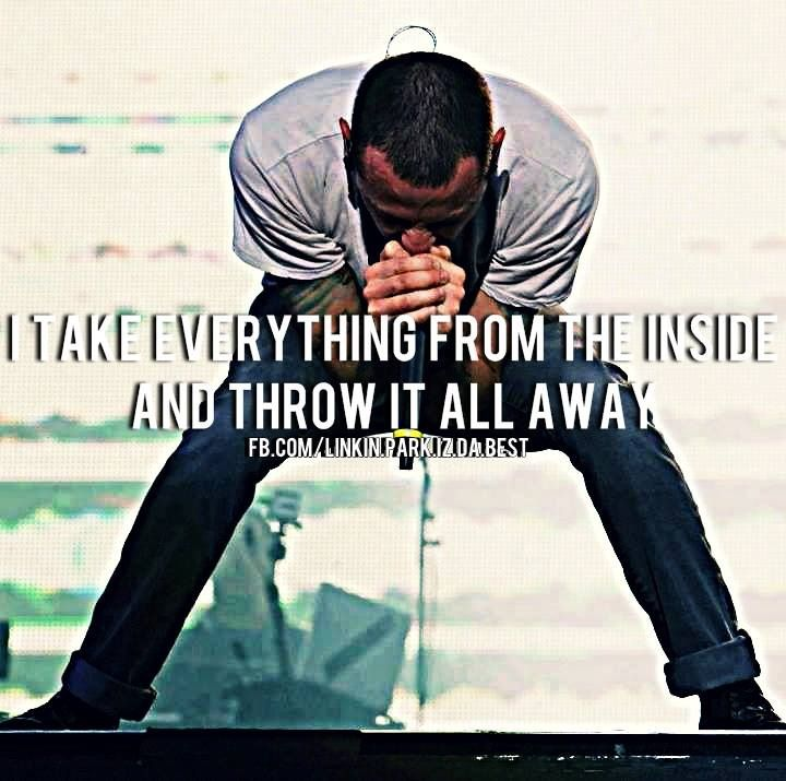 Linkin Park Lyrics Linkin Park From The Inside Wattpad