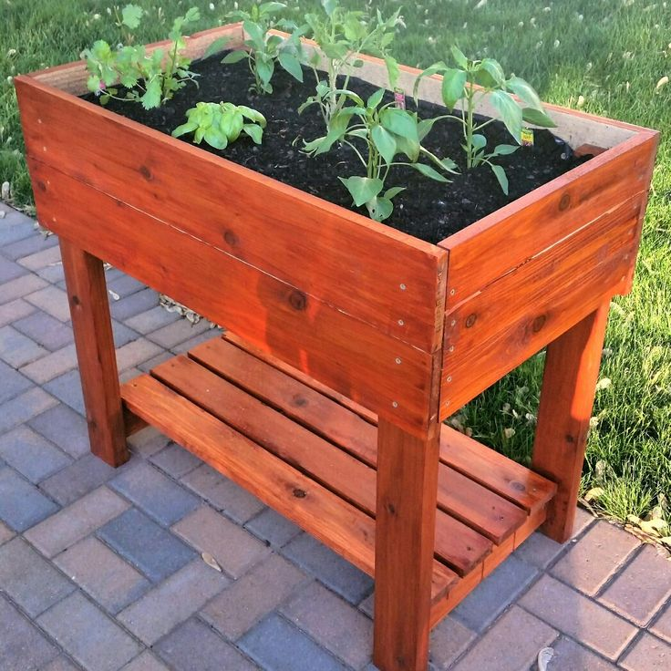 25 best ideas about cedar planter box on pinterest for Tapered planter box plans