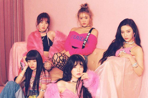 Can You Name These 50 K Pop Ladies Red Velvet Photoshoot Red Velvet Velvet