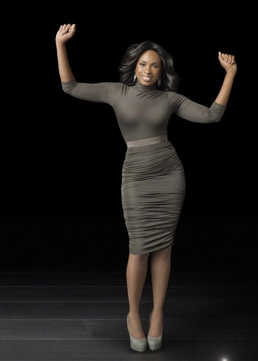 Jennifer Hudson is a strong and beautiful woman who inspires me to meet my weight goal!