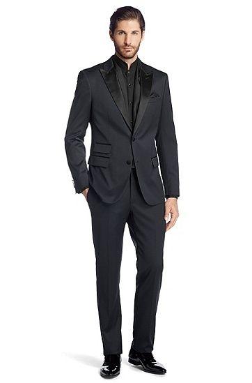 Costume Slim Fit agrémenté de soie Howell/Glare Hugo BOSS prix promo Soldes Hugo Boss 745.00 € TTC
