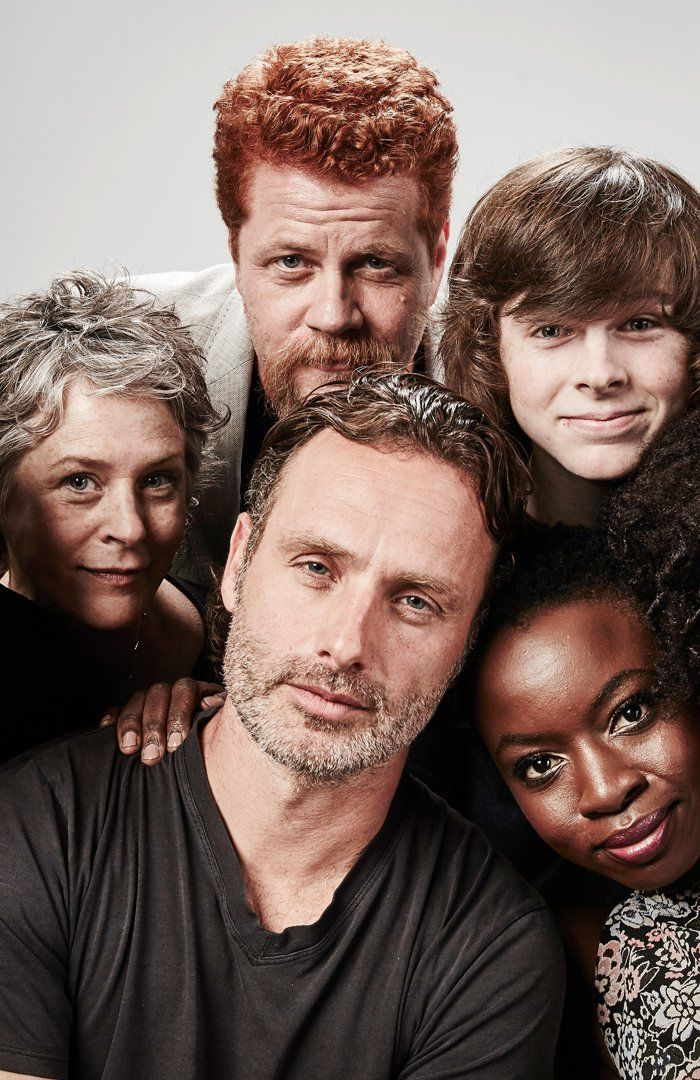 Les acteurs de The Walking Dead