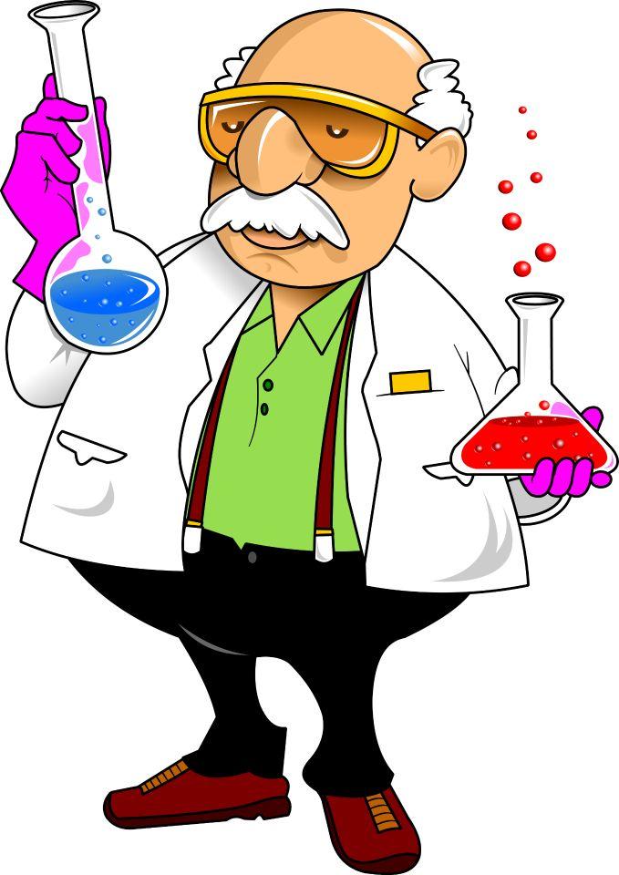 профессия ученые рисунки