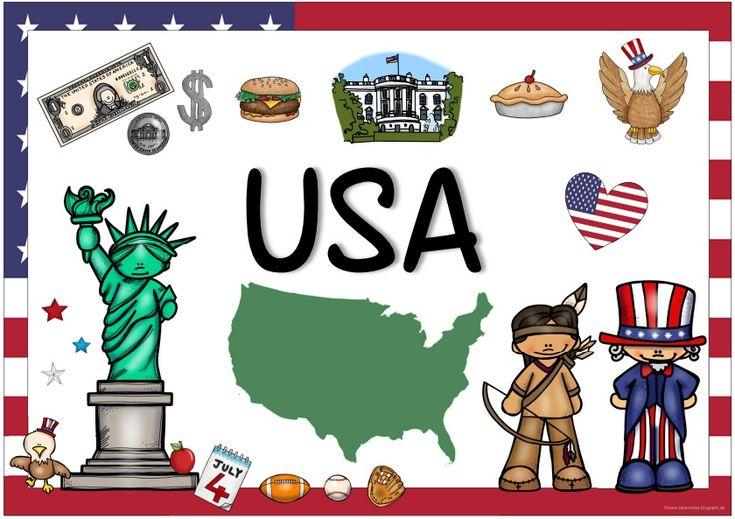 Ideenreise: Länderplakate (USA/Kanada/Großbritannien)