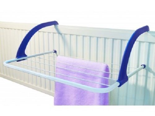 Radiator Towel / Clothes Folding Airer Dryer Drying Rack Rail Bar Holder Adjustable to fit various radiator widths. Heavy Duty 5 Bar Radiatior Airer Laundry Washing Clothes Socks Airer Drier White Indoor Airer With Foldable Arms. | eBay!