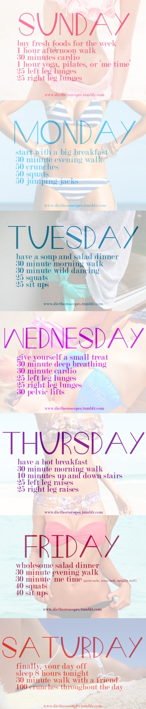 If you're looking for a way to change up your workout for a few weeks, try this!Fit Plans, Weeks Workout, Daily Workout, Lifestyle Change, Workout Routines, Workout Plans, Workout Schedule, Work Out, Weekly Workouts