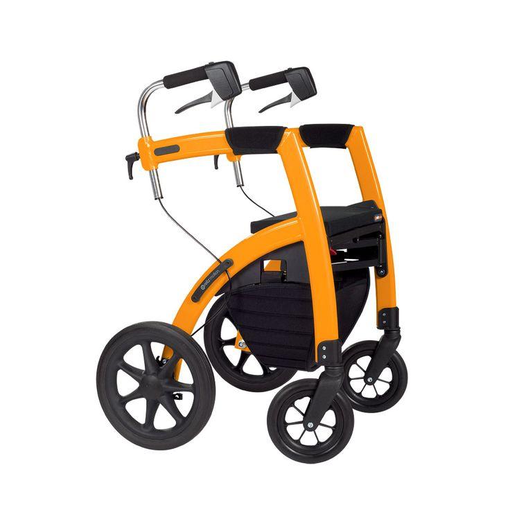 Rollator Two In One Walker Amp Wheelchair Ot Gizmos