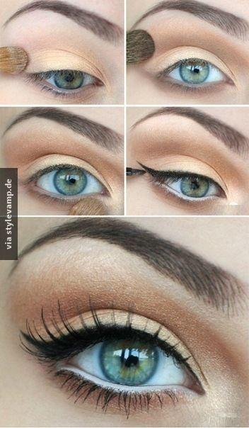 Die besten 17 Ideen zu Gold Augen Make Up auf Pinterest  Makeup