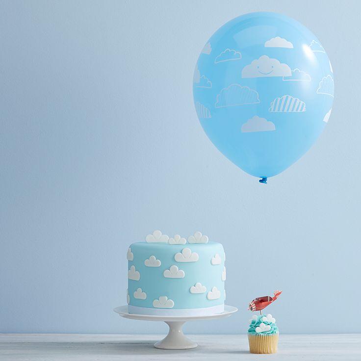 Kindergeburtstag Flugzeuge | mummyandmini.com babyshower cake
