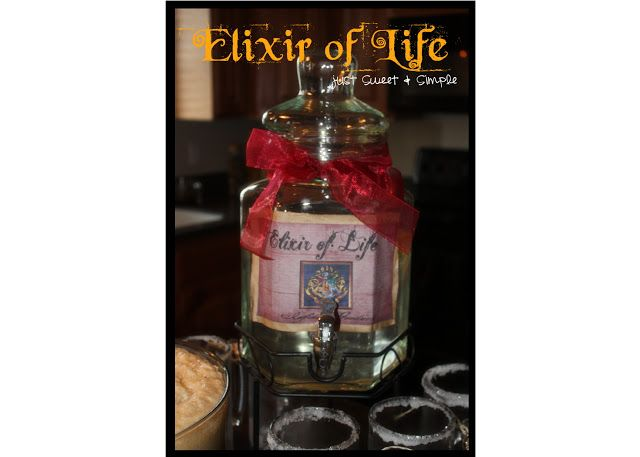 just Sweet and Simple: Harry Potter Elixir of Life