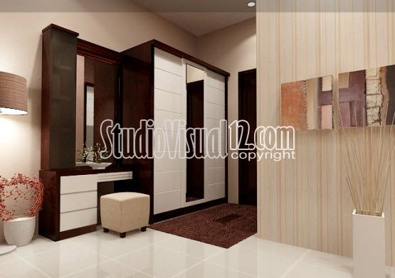 Desain Meja Rias Kamar Hotel Modern Minimalis