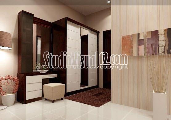 desain meja rias kamar hotel modern minimalis ide buat