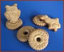 De kinderen vonden deze koekjes geweldig konden ze lekker mee spelen en dan opeten.