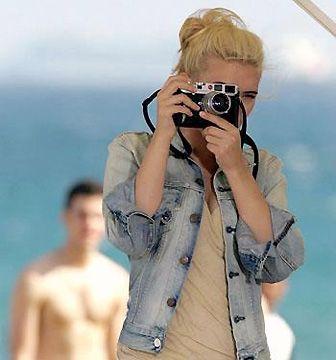 Scarlett Johansson #celeb #camera