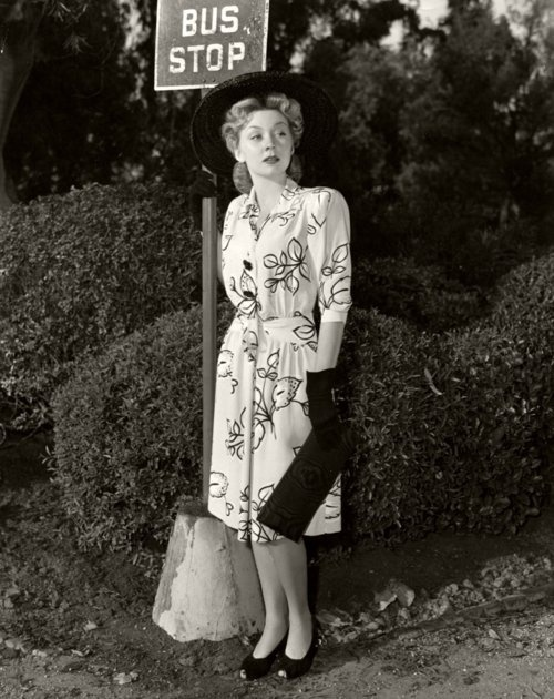 Gloria Grahame 1940's - Photo by Clarence Sinclair Bull