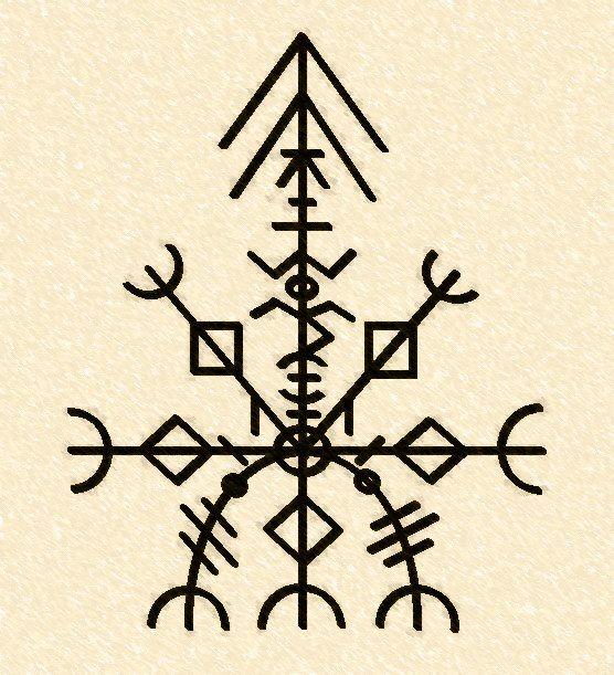 """La """"Undécima llave"""", Valdr Runas: este círculo de Runas Turisaz espejo es importante en runas mágicas para desbloquear un hechizo irreversible. Esta clave puede vencer el mal si trata con fórmulas runas esquema. La experiencia y la eficacia de la grimoires de Norak Odal"""