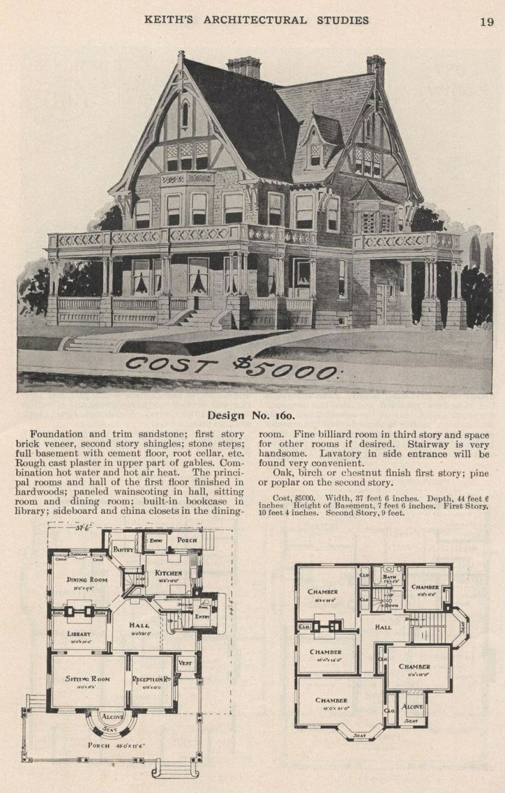 780 best architecture and design pre 1916 images on for Floor plans for 160 000