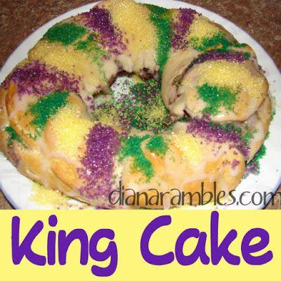 River Road King Cake Recipe