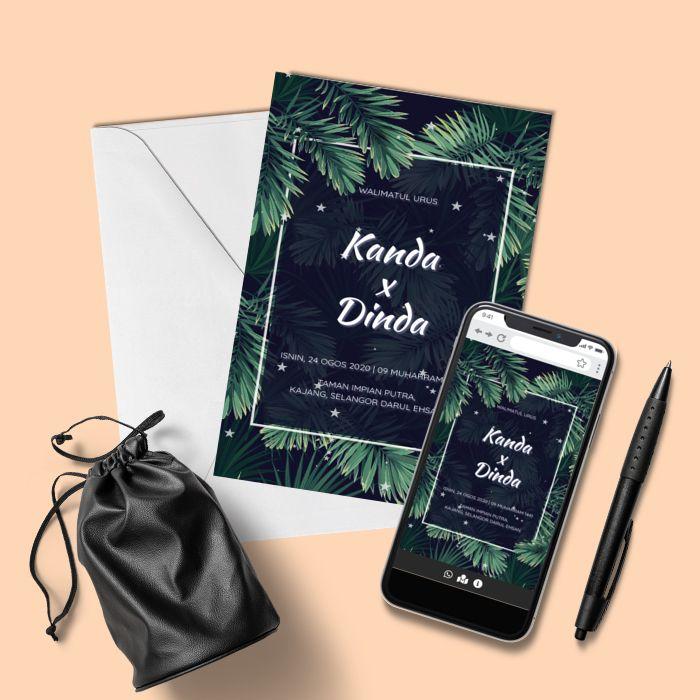 Design By Inspirasi Kad Kahwin Kad Kahwin Design Online Invitations Evite