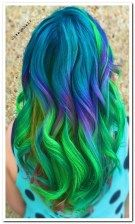 25 crazy rainbow hair color inspirations 00010