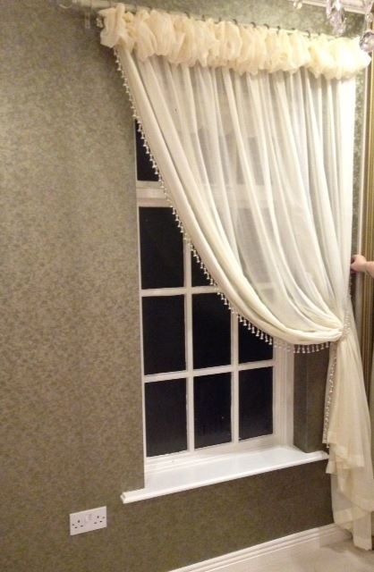 Sheer Voile Window Dressings