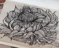 Sketchbook Illustration Drawings by Irina Vinnik