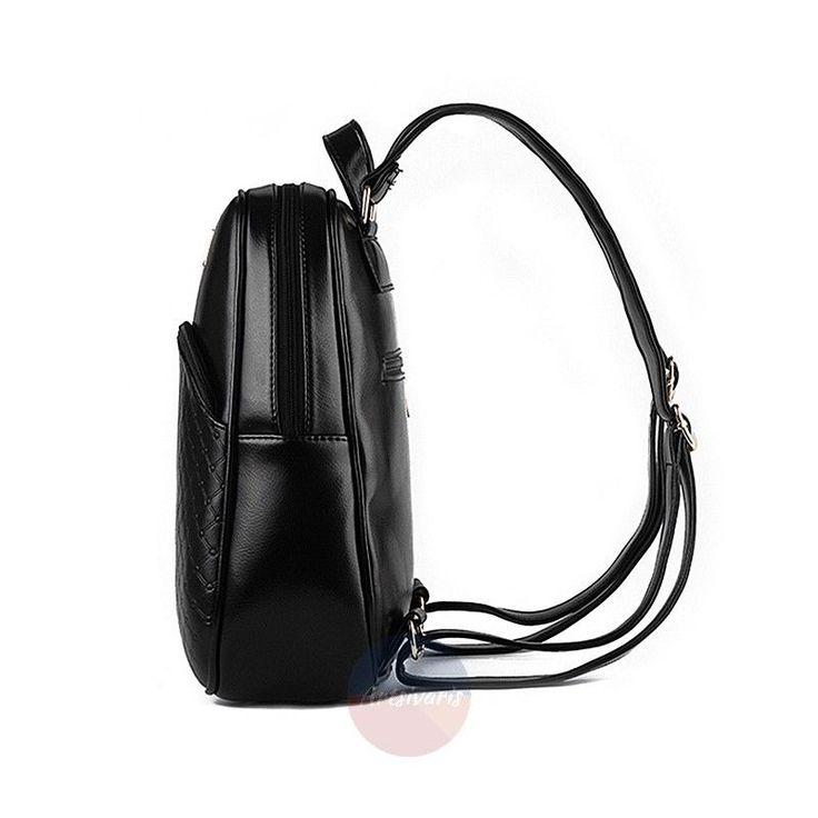 Artsivaris Elegant Women Leather Backpack Travel Casual Rucksack School Bag | eBay