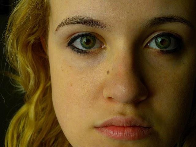 Emerald Eyes by gabriele fontana, via Flickr