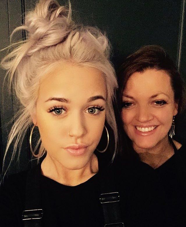 Lottie Tomlinson and Johannah Deakin