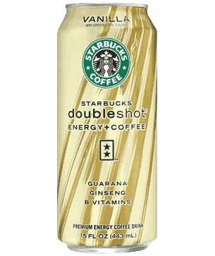 Starbucks Doubleshot® Energy+Vanilla Drink     I drank one about a month ago and fell in love.